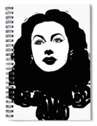 Hedy - Touching The Sublime Spiral Notebook