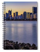 Heirisson Island Sunset Spiral Notebook