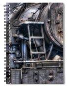 Heisler Steam Engine Spiral Notebook