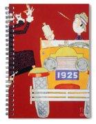 Held: Sheik & Sheba, 1925 Spiral Notebook