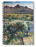 Helderberg Clearmountain Cape Town South Africa Spiral Notebook