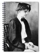 Helen Keller (1880-1968) Spiral Notebook