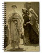 Helen Of Troy Spiral Notebook