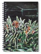 Heliconia 3 Spiral Notebook