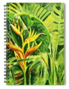 Heliconia 8 Spiral Notebook