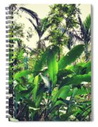 Heliconia Cluster Spiral Notebook