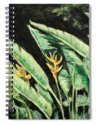 Heliconia Flower 7 Spiral Notebook