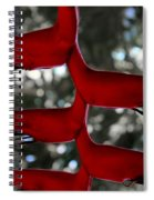 Heliconia Flowering Plant Spiral Notebook