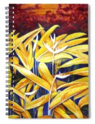 Heliconia Spiral Notebook