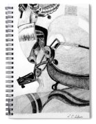 Helicopter Pilot Spiral Notebook