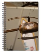 Helicopter Spiral Notebook