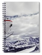 Helihiking In The Canadian Rockies Spiral Notebook
