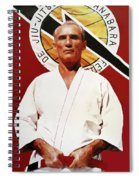 Helio Gracie - Famed Brazilian Jiu-jitsu Grandmaster Spiral Notebook
