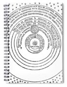 Heliocentric Universe, Thomas Digges Spiral Notebook