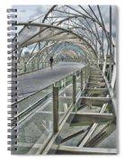 Helix Bridge Spiral Notebook
