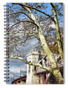 Hell Gate Through The Bows Spiral Notebook
