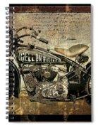 Hell On Wheels Spiral Notebook
