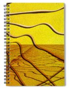 Hello Dali Spiral Notebook