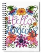 Hello Gorgeous Plus Spiral Notebook