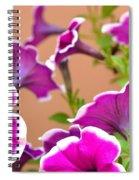 Hello Petunia Spiral Notebook