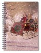 Hello Santa Spiral Notebook