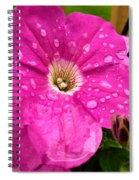 Hello Water Spiral Notebook