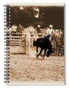 Helluva Rodeo-the Ride 2 Spiral Notebook