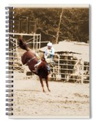 Helluva Rodeo-the Ride 3 Spiral Notebook
