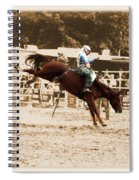 Helluva Rodeo-the Ride 4 Spiral Notebook