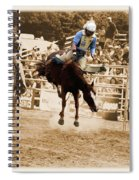 Helluva Rodeo-the Ride 5 Spiral Notebook