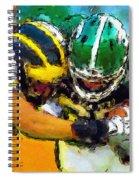 Helmet To Helmet Spiral Notebook