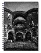 Helsingborg Black And White Spiral Notebook