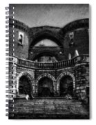 Helsingborg Black And White Spiral Notebook