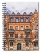 Helsingborg Building Facade Spiral Notebook