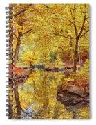 Helsingborg Jordbodalen Forest Spiral Notebook