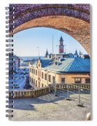 Helsingborg Through The Archway Spiral Notebook