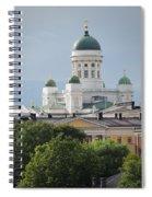 Helsinki Cathedral Spiral Notebook
