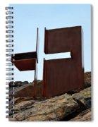 Helsinki Rock Church Cross Spiral Notebook