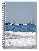 Helter Skelter At Sea Spiral Notebook