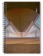Architecture Valencia Spain Night II Spiral Notebook