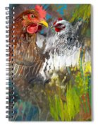 Hen Love Spiral Notebook