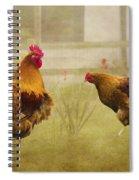 Hen Party Dancin The Night Away Spiral Notebook