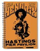 Hendrix 1967 Spiral Notebook