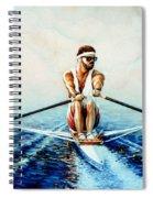 Henley On The Horizon Spiral Notebook