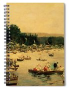 Henley Regatta Spiral Notebook