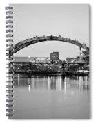Henley Street Bridge Renovation 3 Spiral Notebook
