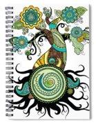 Henna Tree Of Life Spiral Notebook