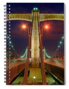 Hennepin Avenue Bridge Minneapolis Spiral Notebook