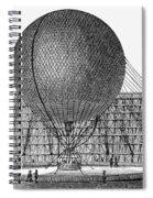 Henri Giffard: Balloon Spiral Notebook
