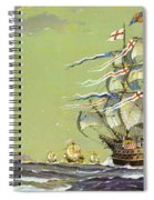 Henri Grace A Dieu, Or The Great Harry Spiral Notebook